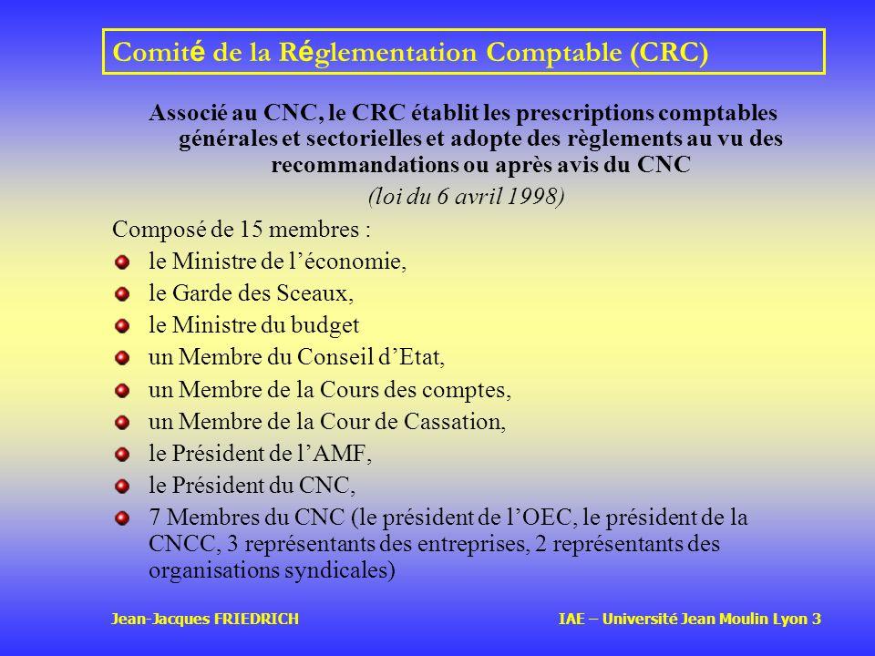 Comité de la Réglementation Comptable (CRC)