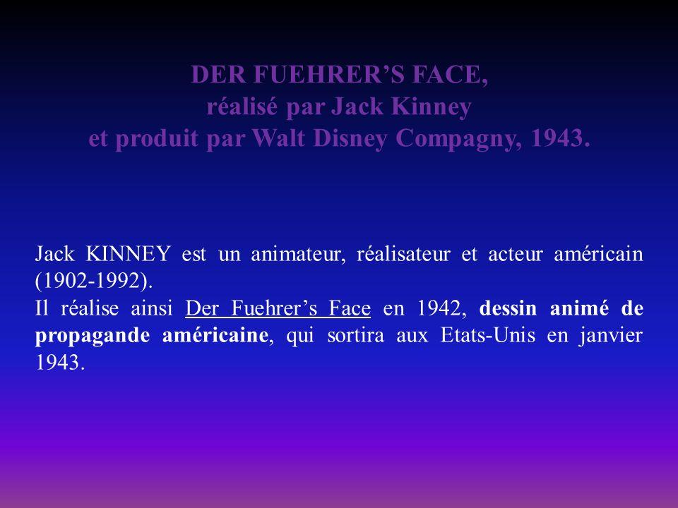 réalisé par Jack Kinney et produit par Walt Disney Compagny, 1943.