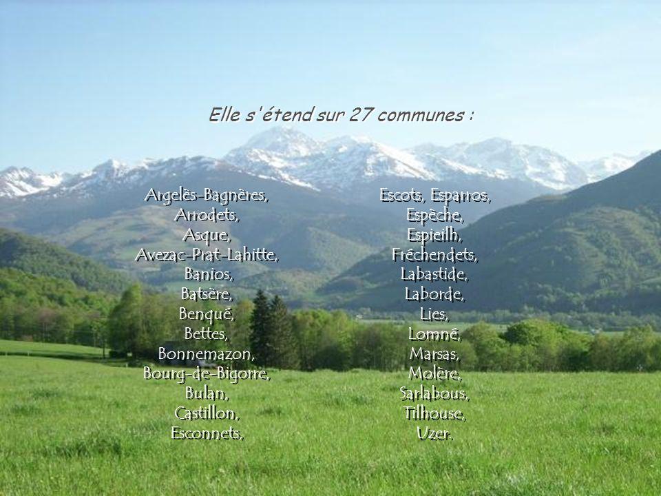 Elle s étend sur 27 communes :