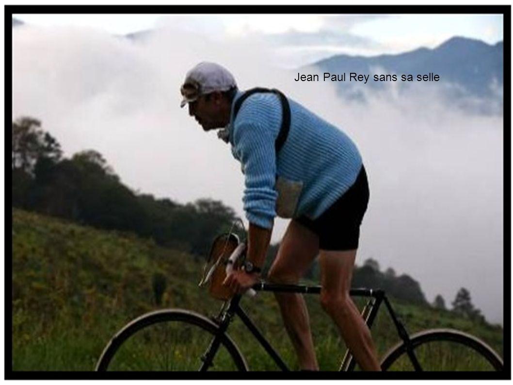 Jean Paul Rey sans sa selle
