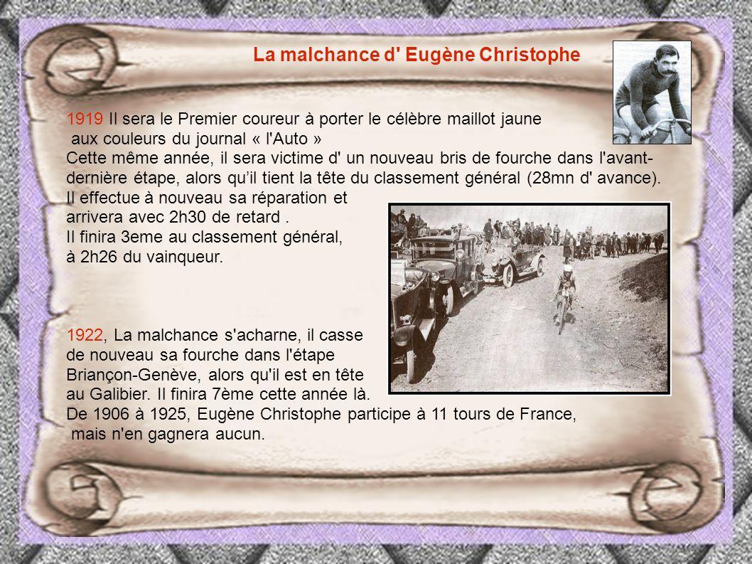 La malchance d Eugène Christophe