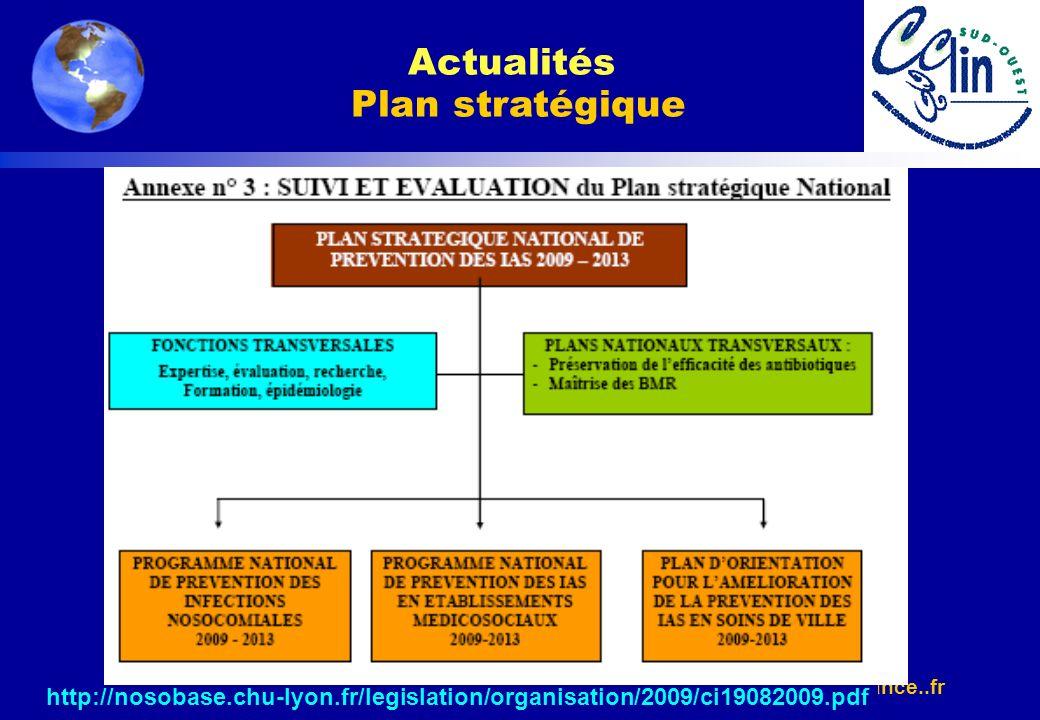 Actualités Plan stratégique
