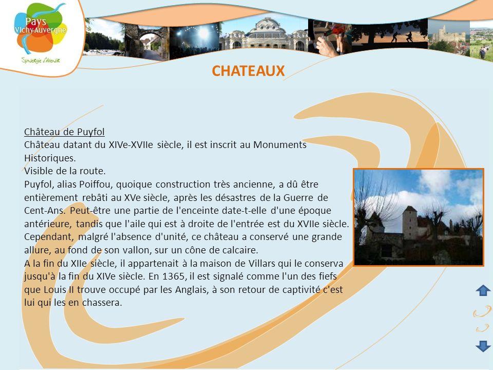 CHATEAUX Château de Puyfol