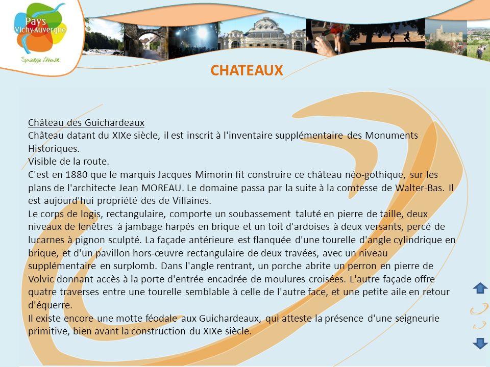 CHATEAUX Château des Guichardeaux