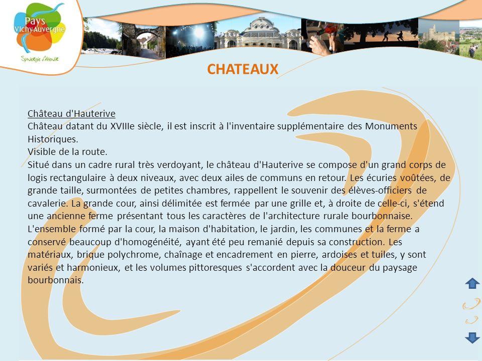 CHATEAUX Château d Hauterive