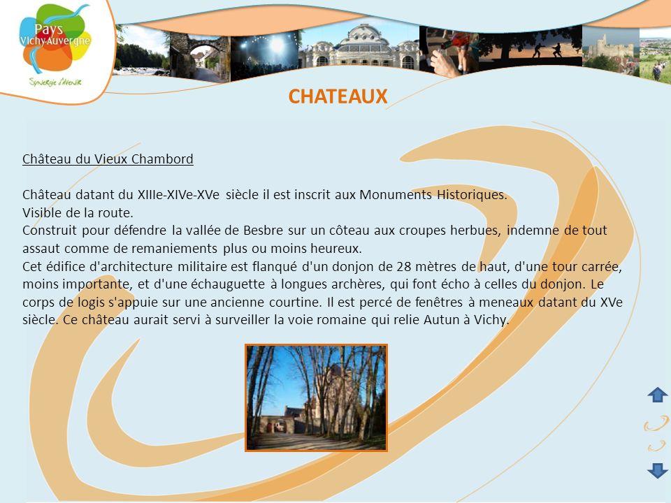 CHATEAUX Château du Vieux Chambord