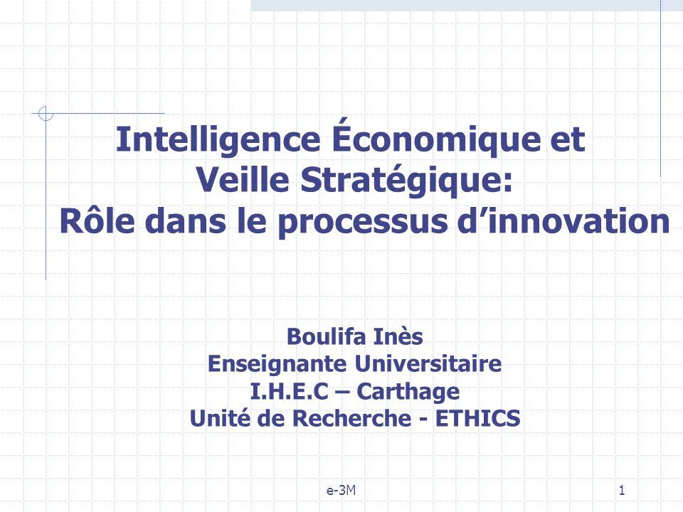 Intelligence Économique et Veille Stratégique: