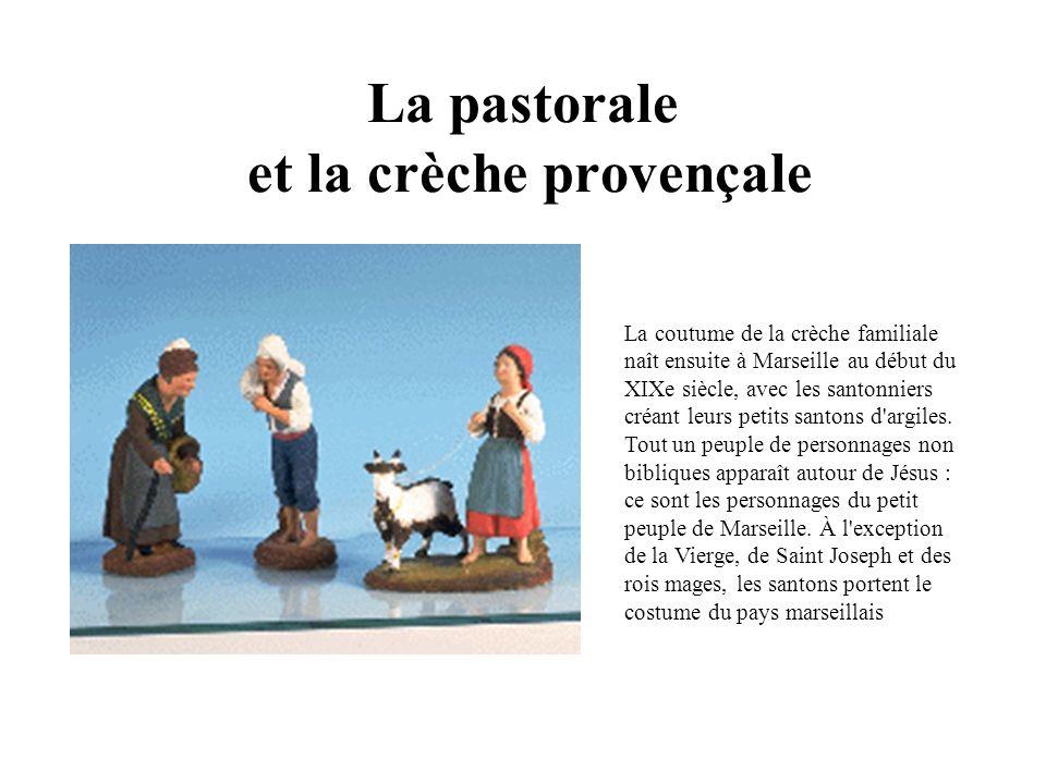 La pastorale et la crèche provençale