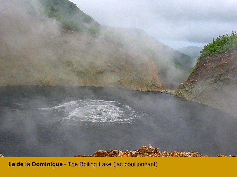 Ile de la Dominique - The Boiling Lake (lac bouillonnant)