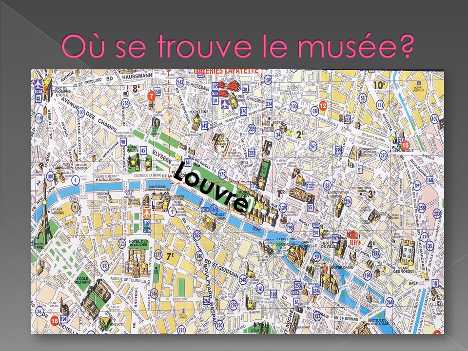 Où se trouve le musée Louvre