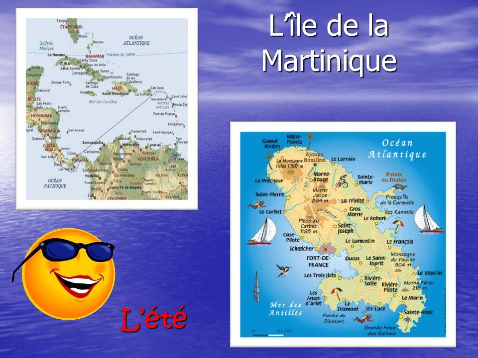 L'île de la Martinique L'été