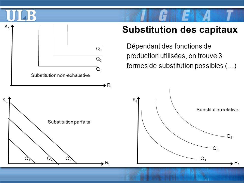 Substitution des capitaux