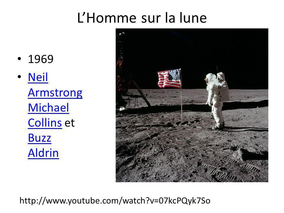 L'Homme sur la lune 1969 Neil ArmstrongMichael Collins et Buzz Aldrin
