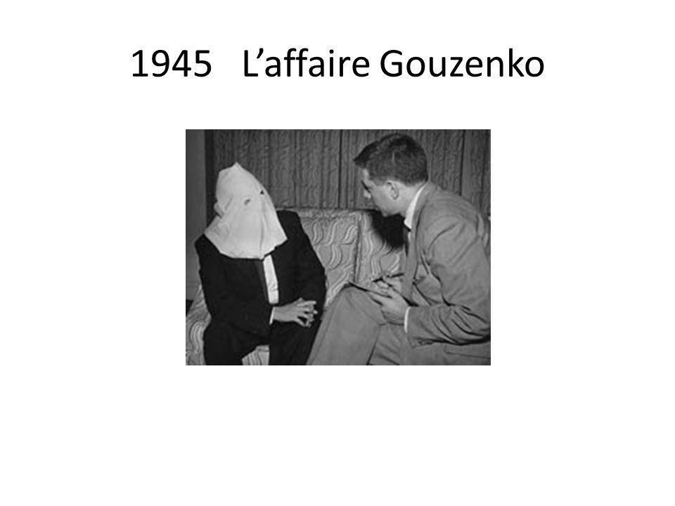 1945 L'affaire Gouzenko