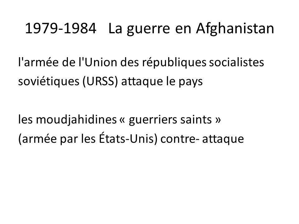 1979-1984 La guerre en Afghanistan