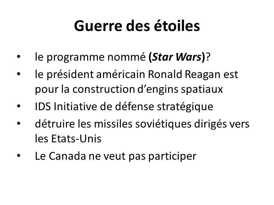 Guerre des étoiles le programme nommé (Star Wars)