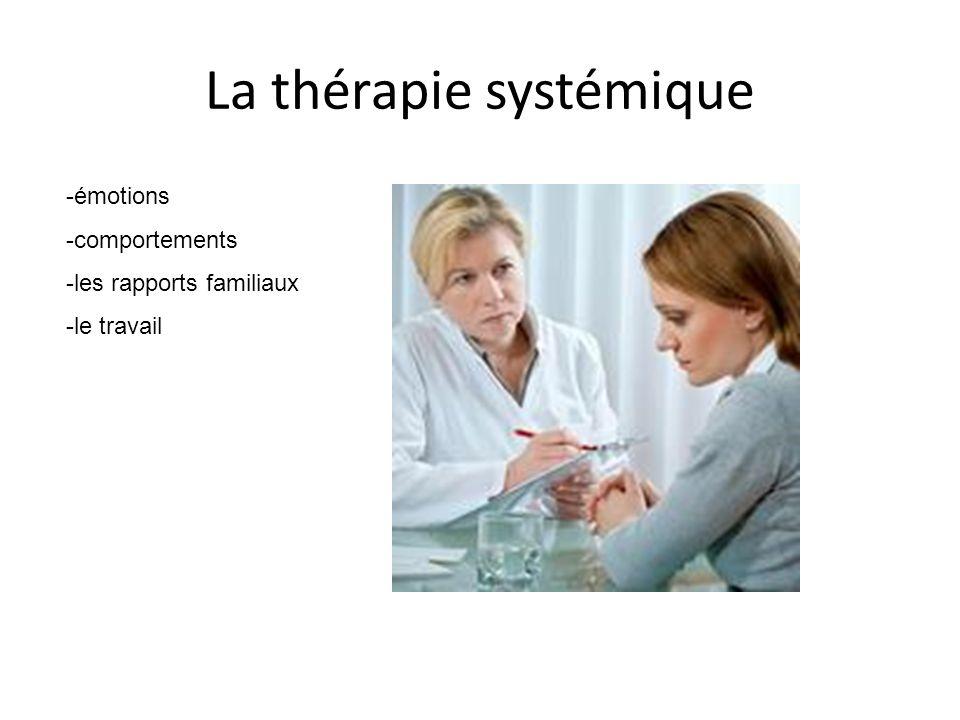 La thérapie systémique