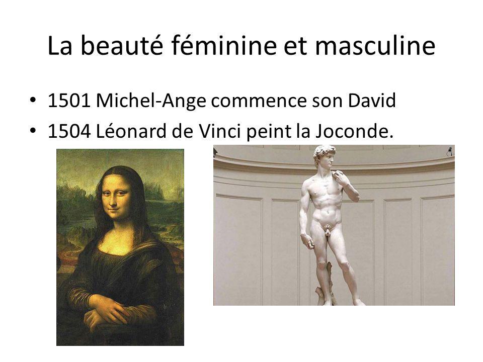 La beauté féminine et masculine