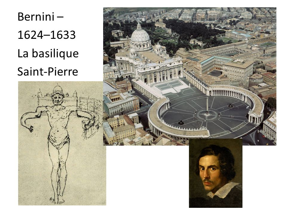 Bernini – 1624–1633 La basilique Saint-Pierre