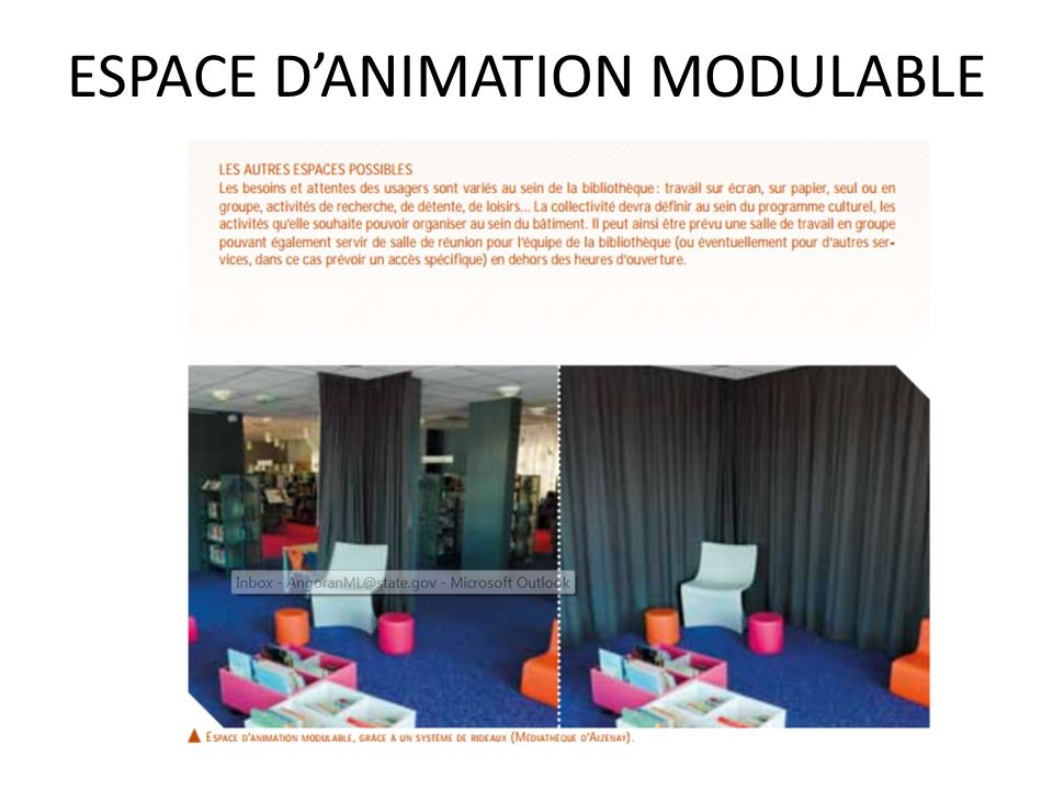 ESPACE D'ANIMATION MODULABLE