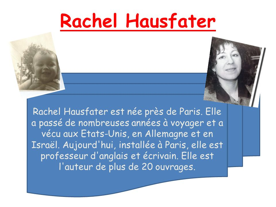 Rachel Hausfater
