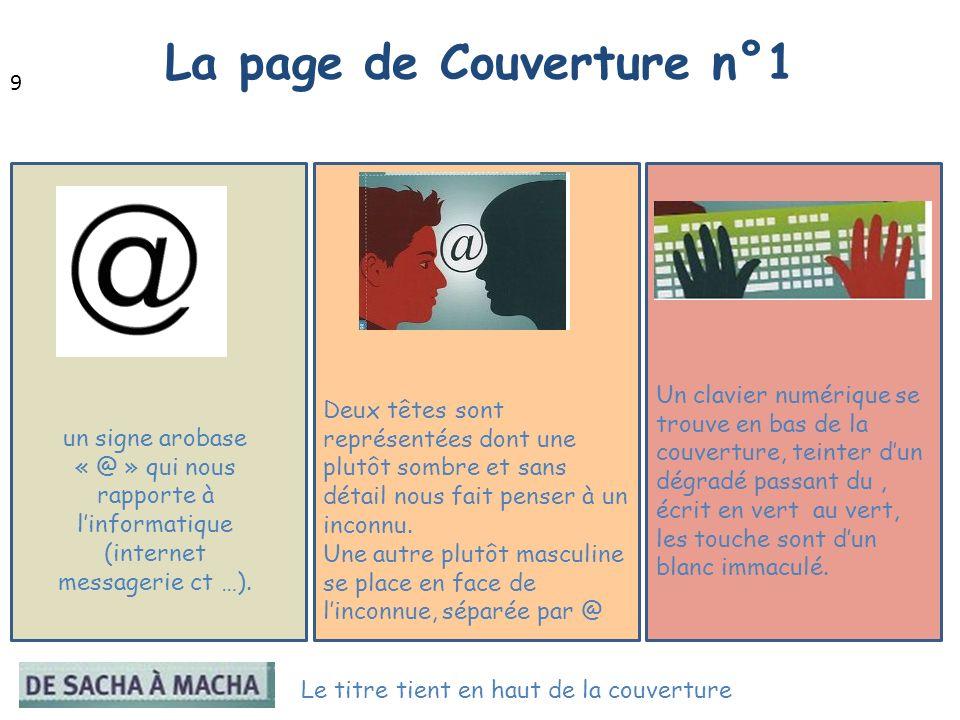 La page de Couverture n°1
