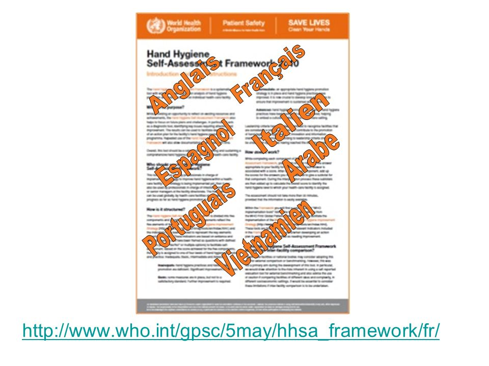 http://www.who.int/gpsc/5may/hhsa_framework/fr/ Français Anglais