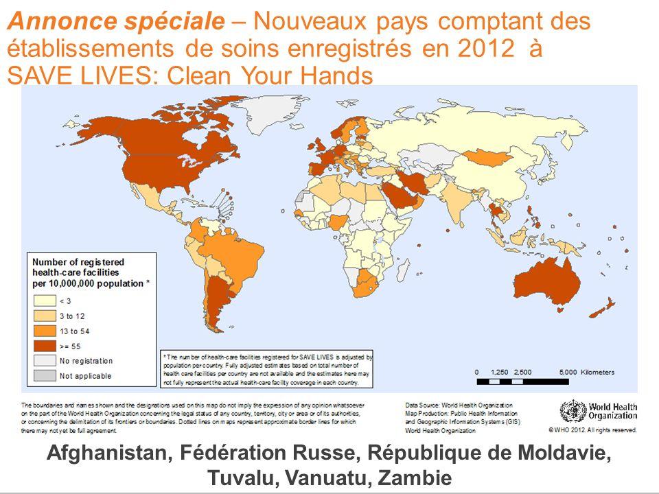 Afghanistan, Fédération Russe, République de Moldavie,