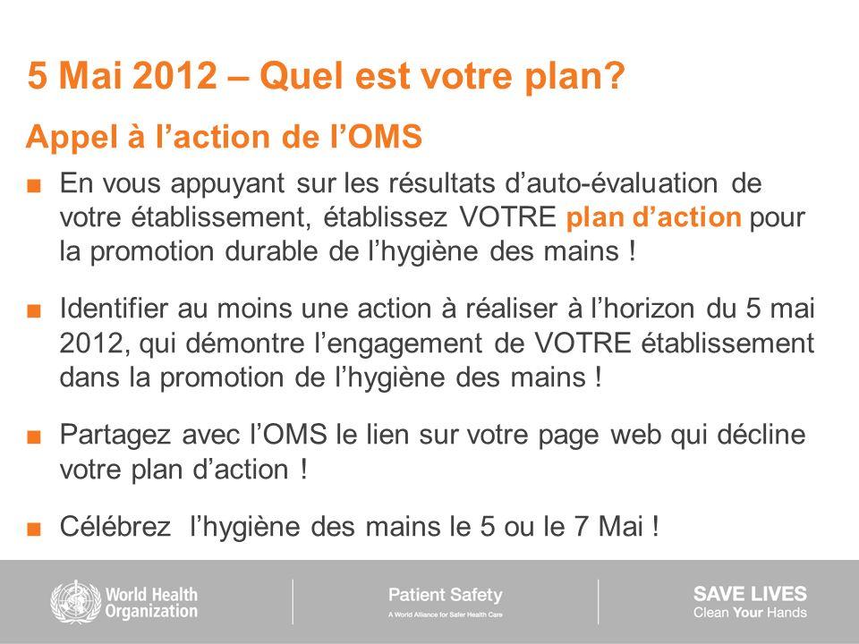 5 Mai 2012 – Quel est votre plan