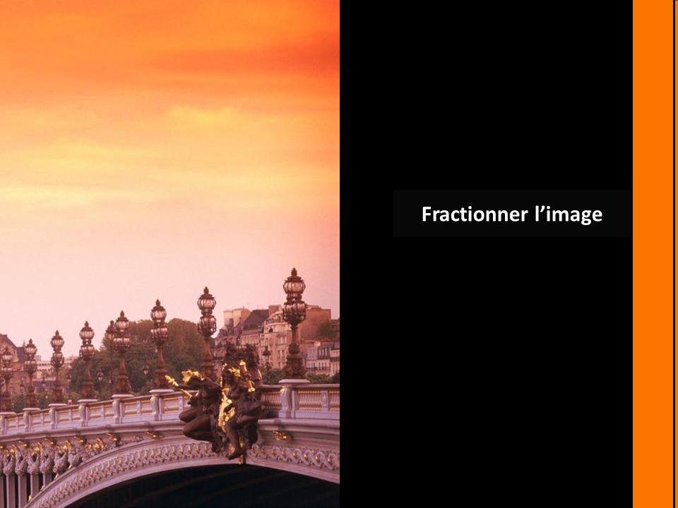 Fractionner l'image