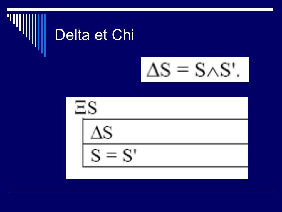 Delta et Chi