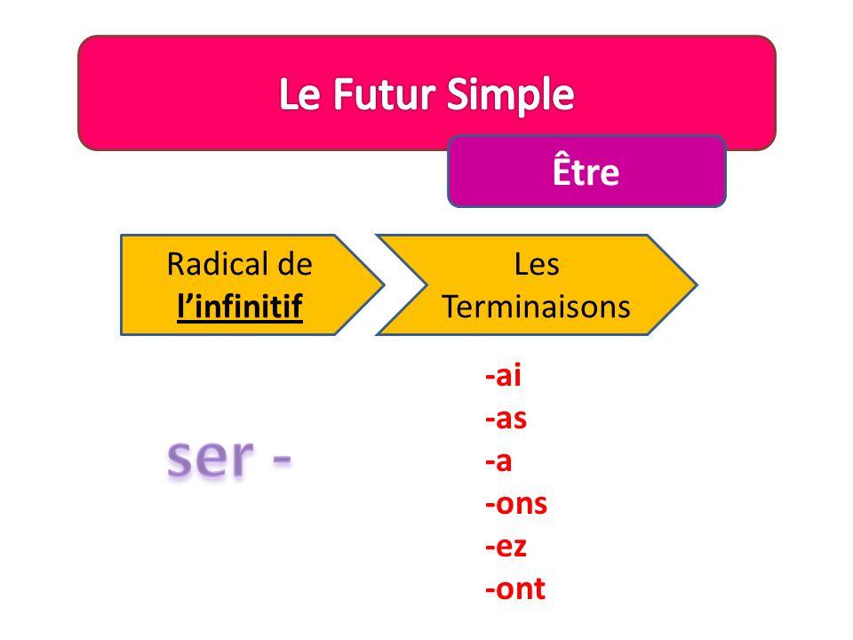 Radical de l'infinitif