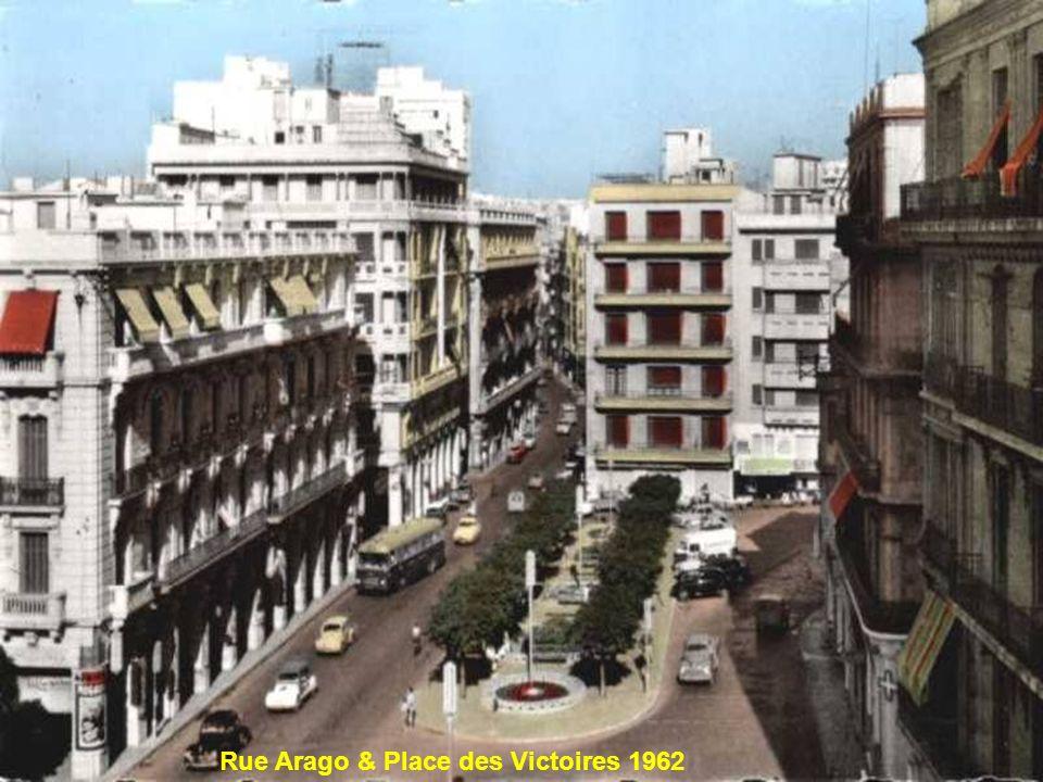 Rue Arago & Place des Victoires 1962