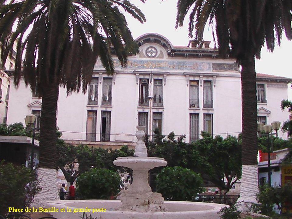 Place de la Bastille et la grande poste