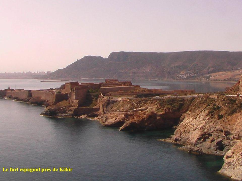 Le fort espagnol près de Kébir
