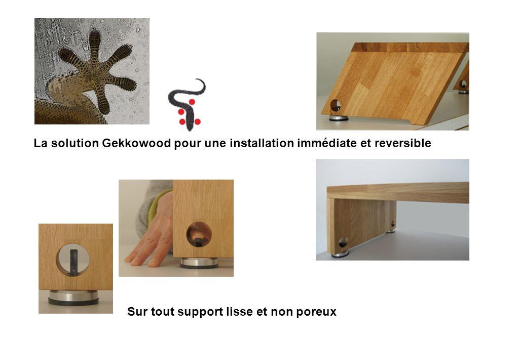 La solution Gekkowood pour une installation immédiate et reversible