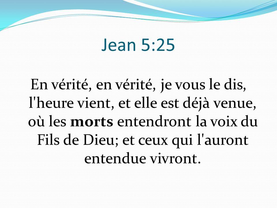 Jean 5:25