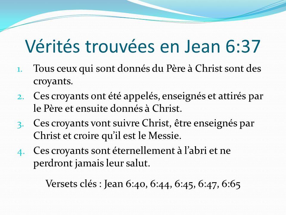 Vérités trouvées en Jean 6:37