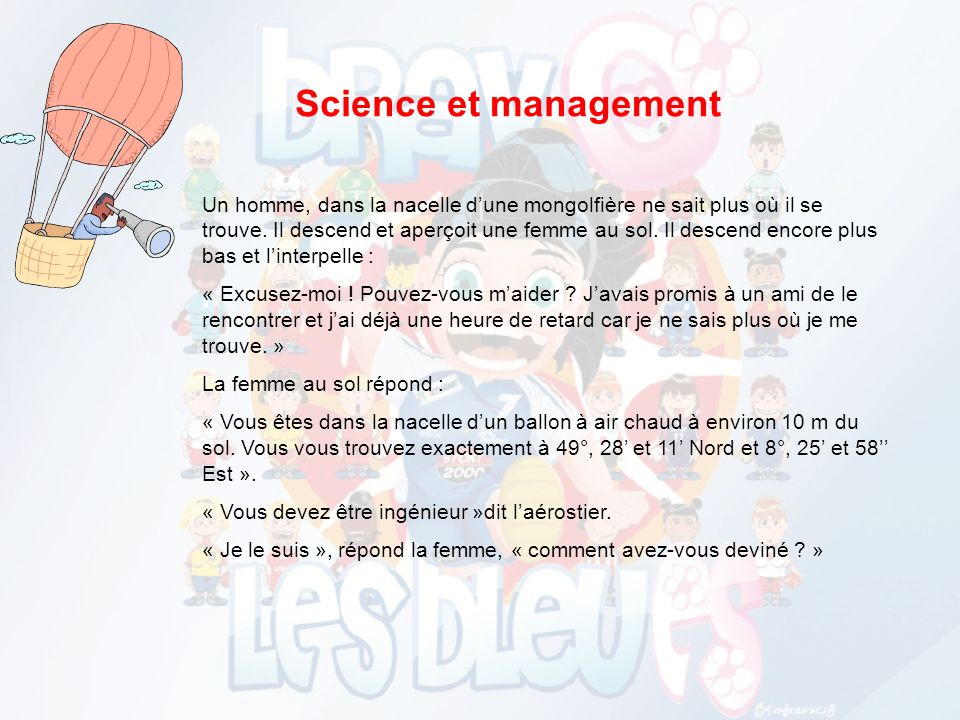 Science et management