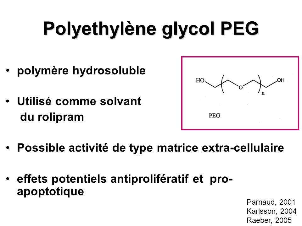 Polyethylène glycol PEG