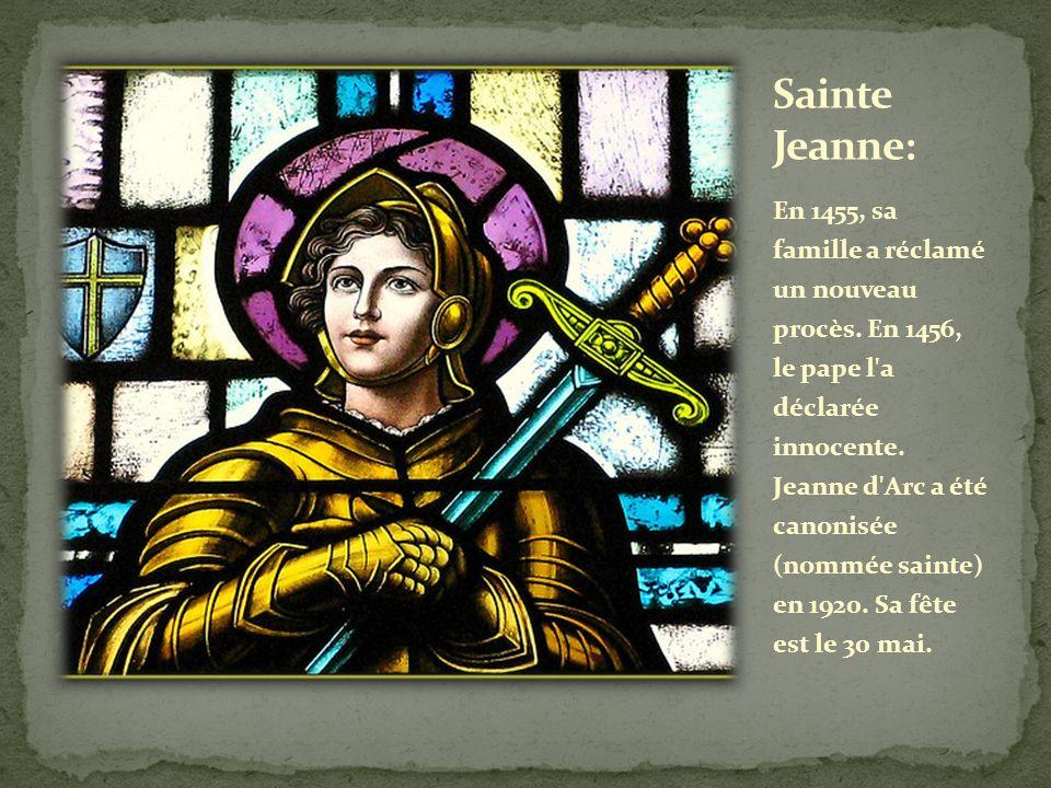 Sainte Jeanne: