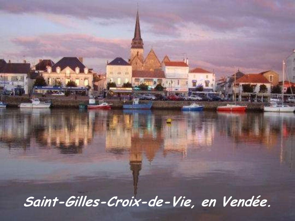 Saint-Gilles-Croix-de-Vie, en Vendée.