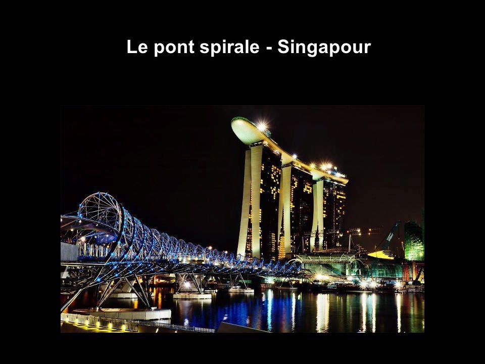 Le pont spirale - Singapour