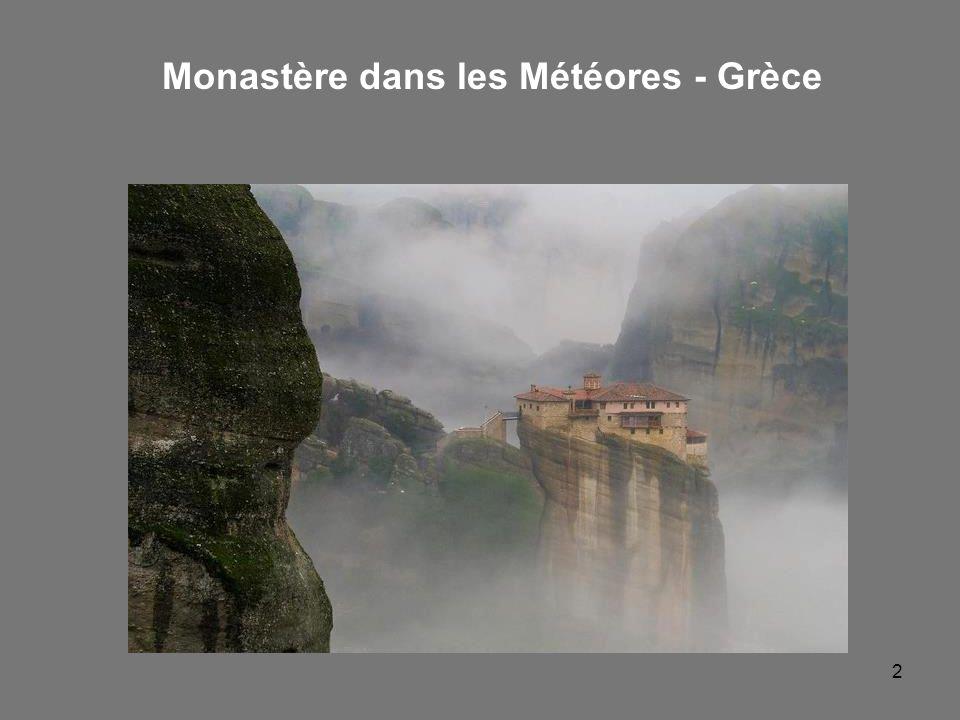 Monastère dans les Météores - Grèce