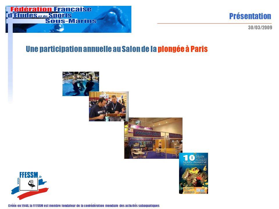 Une participation annuelle au Salon de la plongée à Paris