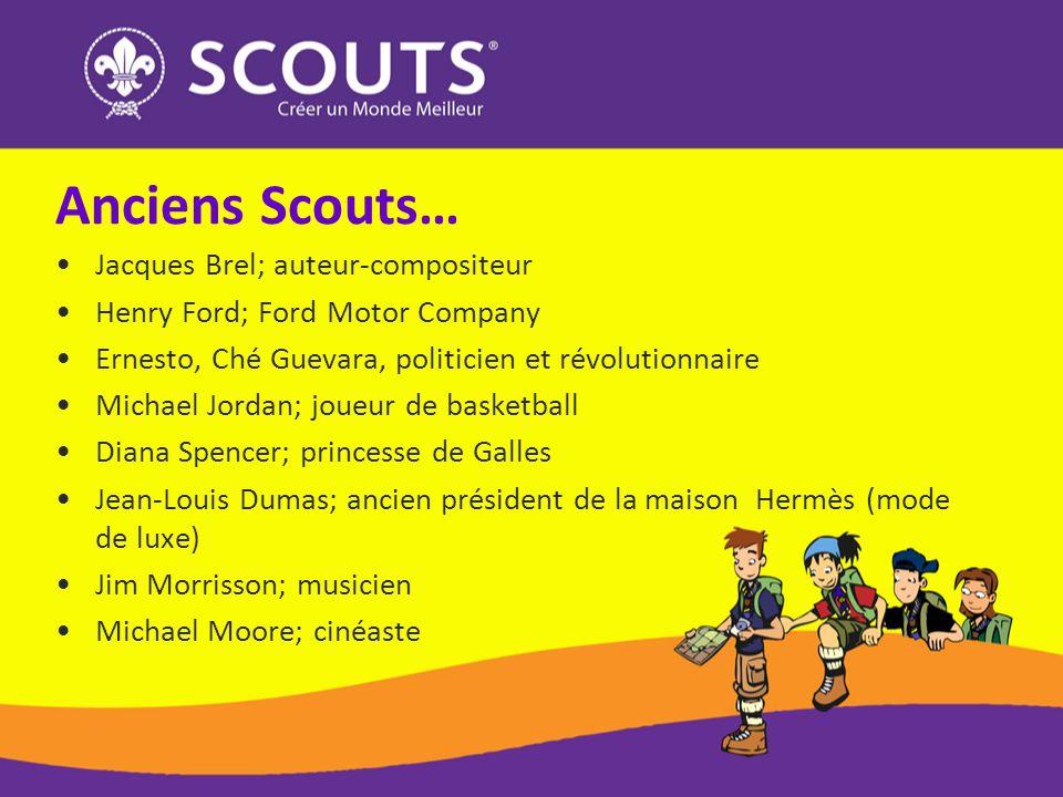 Anciens Scouts… Jacques Brel; auteur-compositeur