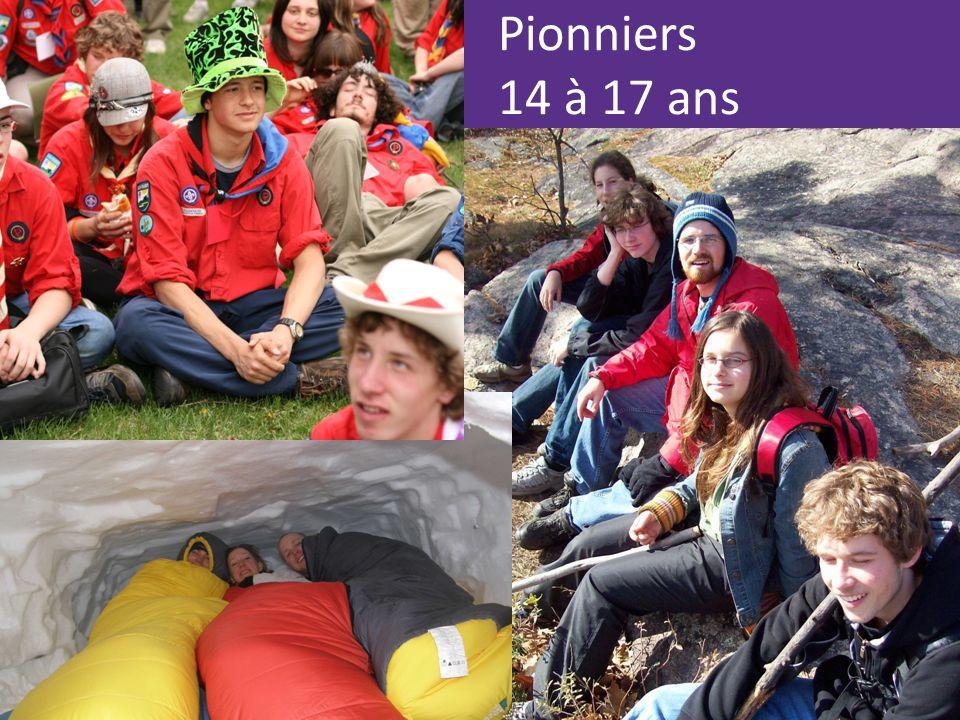 Pionniers 14 à 17 ans