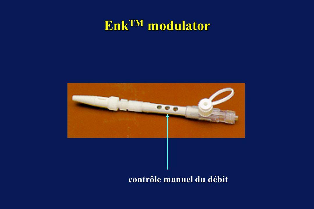 EnkTM modulator contrôle manuel du débit