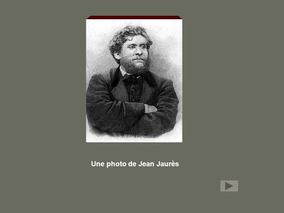 Une photo de Jean Jaurès