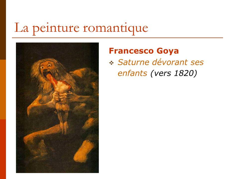 La peinture romantique